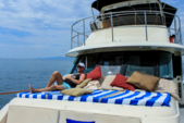 58 ft. Hatteras 58 Motoryacht Motor Yacht Boat Rental Puerto Vallarta Image 3