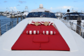 78 ft. Leopard 23M Sport Motor Yacht Boat Rental Miami Image 1