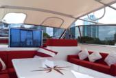 78 ft. Leopard 23M Sport Motor Yacht Boat Rental Miami Image 9