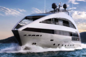 135 ft. Rodriquez 800 Widebody Motor Yacht Boat Rental Rest of Northeast Image 1