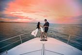 57 ft. Aicon Yachts Sport Cruiser Motor Yacht Boat Rental Sukawati Image 5