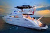 57 ft. Aicon Yachts Sport Cruiser Motor Yacht Boat Rental Sukawati Image 6