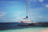 50 ft. Lagoon 500 Catamaran Boat Rental Belize City Image 5