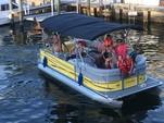 22 ft. Bentley 220 Elite Sport Pontoon Boat Rental Miami Image 3