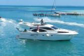 30 ft. Azimut 46 Motor Yacht Boat Rental Cancun Image 1