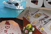 30 ft. Azimut 46 Motor Yacht Boat Rental Cancun Image 3