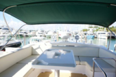 48 ft. Azimut Flybridge Motor Yacht Boat Rental Miami Image 6