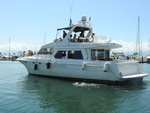 60 ft. Navigator Classic Motor Yacht Boat Rental Puerto Vallarta Image 4