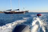 95 ft. Aegean Yacht Builders Ketch Sloop Boat Rental Bonifacio Image 2