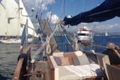 95 ft. Aegean Yacht Builders Ketch Sloop Boat Rental Bonifacio Image 4