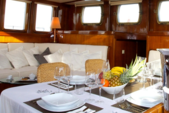 95 ft. Aegean Yacht Builders Ketch Sloop Boat Rental Bonifacio Image 5