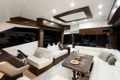 50 ft. Galeon 500 Fly Motor Yacht Boat Rental Miami Image 8