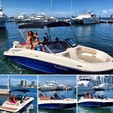 21 ft. Bayliner 210 Water Sports Pkg w/200 Verado Bow Rider Boat Rental Miami Image 1