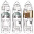 33 ft. Chaparral Boats 327 SSX Bow Rider Boat Rental Atlanta Image 1