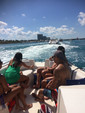 26 ft. Bayliner 2659 Rendezvous Bow Rider Boat Rental Miami Image 10