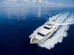 88 ft. Ferretti Custom Motor Yacht Boat Rental Miami Image 1