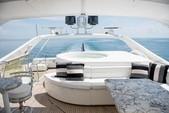 88 ft. Ferretti Custom Motor Yacht Boat Rental Miami Image 8