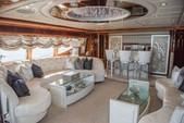 88 ft. Ferretti Custom Motor Yacht Boat Rental Miami Image 2