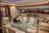 88 ft. Ferretti Custom Motor Yacht Boat Rental Miami Image 4