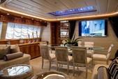 88 ft. Ferretti Custom Motor Yacht Boat Rental Miami Image 3