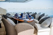 88 ft. Ferretti Custom Motor Yacht Boat Rental Miami Image 5