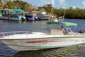 35 ft. Marlago by Jefferson Yachts FS35 Center Console Boat Rental Boston Image 8