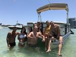 20 ft. Crest Pontoons 190 Crest II Pontoon Boat Rental Miami Image 6