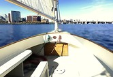 16 ft. 16' Lynx Cat Boat Classic Boat Rental Boston Image 10