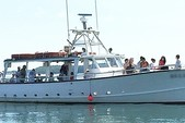 50 ft. 50' Fun Boat Motor Yacht Boat Rental Boston Image 7