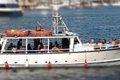 50 ft. 50' Fun Boat Motor Yacht Boat Rental Boston Image 11