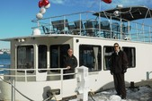 44 ft. 44' Party Boat Motor Yacht Boat Rental Boston Image 4