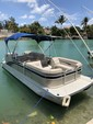 22 ft. Bennington Marine 22SSX Pontoon Boat Rental Miami Image 2