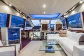 75 ft. Lazzara Marine 75 LSX Motor Yacht Boat Rental Miami Image 2