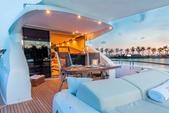 75 ft. Lazzara Marine 75 LSX Motor Yacht Boat Rental Miami Image 5