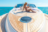 75 ft. Lazzara Marine 75 LSX Motor Yacht Boat Rental Miami Image 11