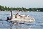 18 ft. Godfrey Marine A2420E Executive Pontoon Boat Rental Rest of Northeast Image 3