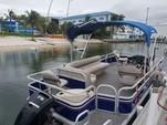22 ft. Sun Tracker by Tracker Marine Fishin' Barge 20 DLX w/60ELPT 4-S Pontoon Boat Rental West Palm Beach  Image 1
