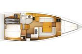 38 ft. Jeanneau Sailboats 389 Classic Boat Rental Tampa Image 2