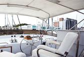 60 ft. Chris Craft 65 Motor Yacht Boat Rental Los Angeles Image 5