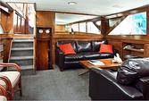 60 ft. Chris Craft 65 Motor Yacht Boat Rental Los Angeles Image 6
