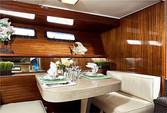 60 ft. Chris Craft 65 Motor Yacht Boat Rental Los Angeles Image 7