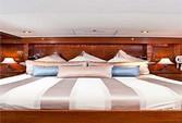 60 ft. Chris Craft 65 Motor Yacht Boat Rental Los Angeles Image 8