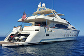 100 ft. Azimut Yachts 100 Jumbo Motor Yacht Boat Rental Los Angeles Image 1