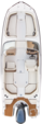 25 ft. Chaparral Boats 250 Suncoast Bow Rider Boat Rental Rest of Northeast Image 4