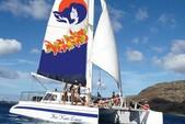 65 ft. Custom Craft custom Catamaran Boat Rental Hawaii Image 1