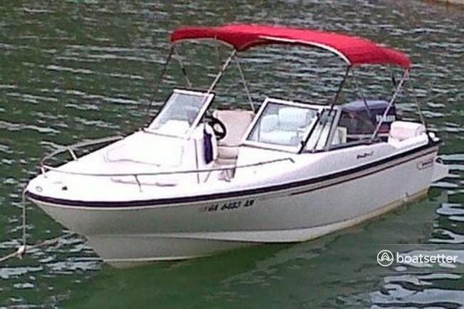 Rent a 2003 20 ft  Boston Whaler 220 Dauntless in Nantucket, MA on  Boatsetter