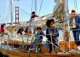 45 ft. Custom Ketch Classic Boat Rental San Francisco Image 4