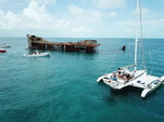 40 ft. Dragonfly Boats 1200 Ketch Boat Rental Miami Image 1