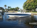 38 ft. Boston Whaler 370 Outrage w/3-300L6 Verado Joystick Center Console Boat Rental The Keys Image 1
