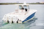 38 ft. Boston Whaler 370 Outrage w/3-300L6 Verado Joystick Center Console Boat Rental The Keys Image 2